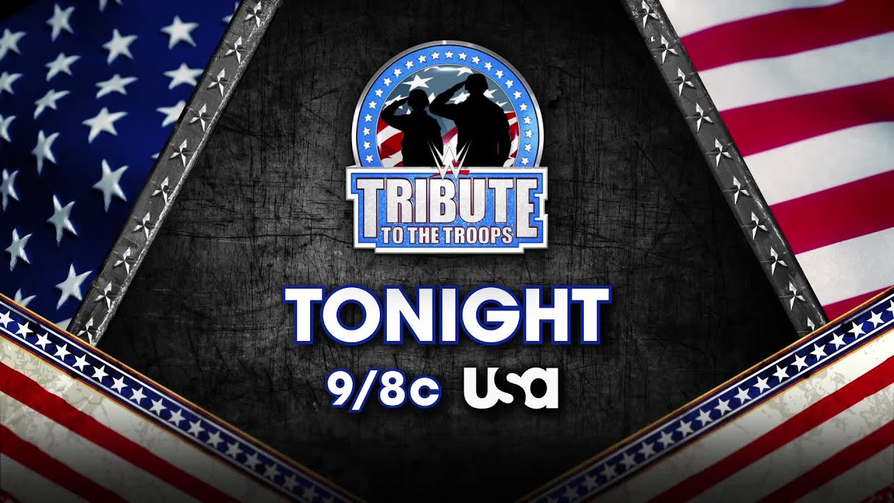 Image result for Don't miss the 16th annual WWE Tribute to the Troops tonight on USA network