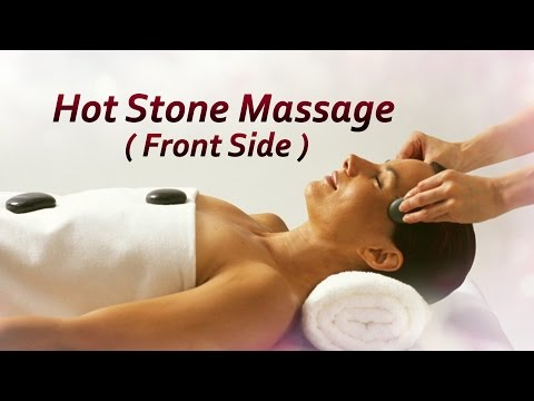 Hot Stone Massage (Front Side) | The Beauty Mantra