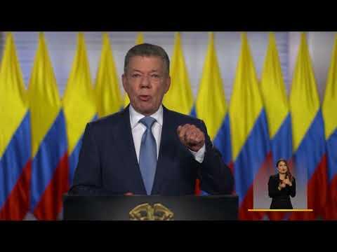 Presidente Santos con motivo del ingreso de Colombia a la OCDE - 25 de mayo de 2018