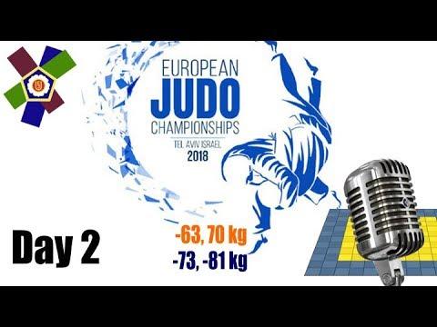 European Judo Championships Tel-Aviv 2018: Day 2