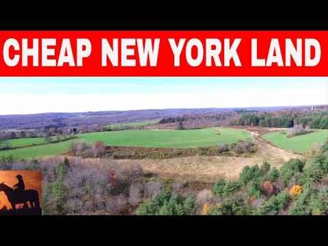 6 Places In New York To Buy Cheap Land