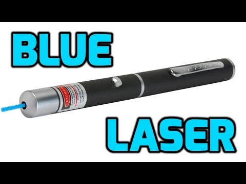 Blue 445nm / 450nm 5mw Laser Pointer Pen Review
