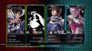Tekken Tag Tournament 2 : Gegix95 ( Forest Law X Marshall Law ) VS x MAD AXES x ( Xiaoyu X Miharu )