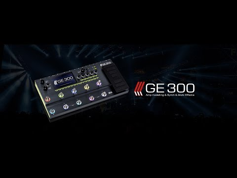 MOOER GE300 - Amp modelling - Synth - Multi Effects