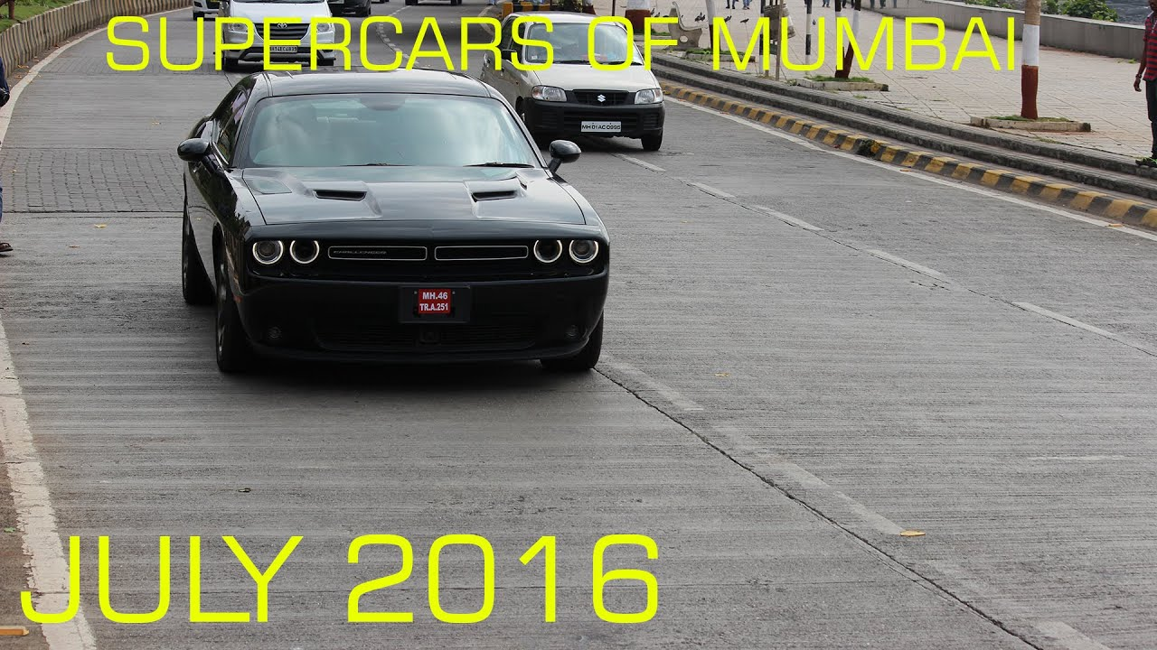 Supercars Of Mumbai July Youtube