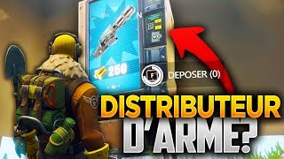 """ARME DISTRIBUTOR"" TROUVÉ ON THE FORTNITE CART! (Fortnite Battle Royale Secret)"