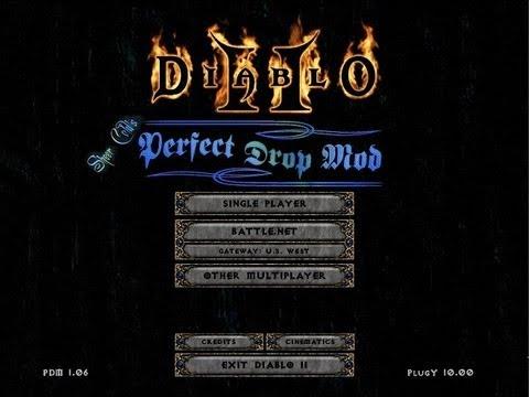 Diablo 2 Best Mods 2019 Diablo 2   Perfect Drop mod   Episode #01   YouTube