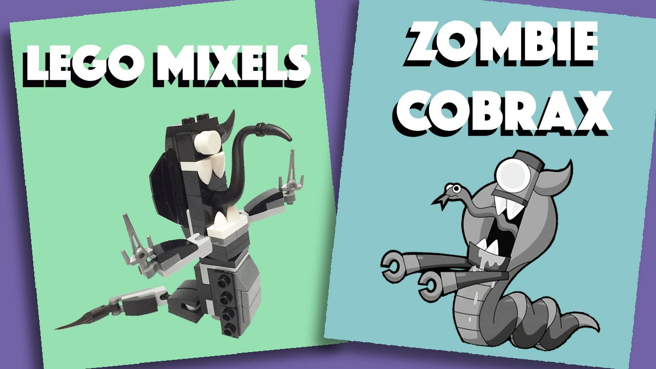 Lego mixels zombie cobrax stop motion build how to for Zombie build