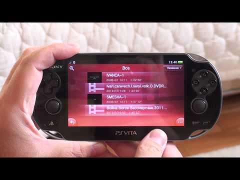 PS Vita: Музыка, видео, интернет