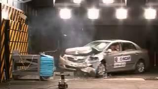 Vehicule  Crash Test 2008 Toyota Corolla Frontal Offset Test) C-NCAP-Extreme