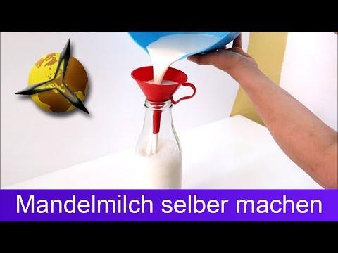Mandelmilch selber machen / herstellen