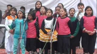 Chorus by small student - Ek tu hi Sahara.mpg