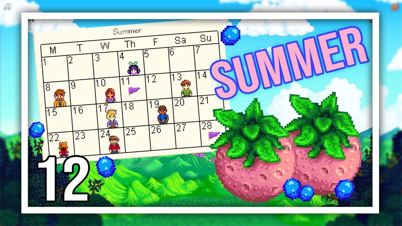 Stardew Valley 1.5 Play Through - Episode 12 - Hot Start to SUMMER!