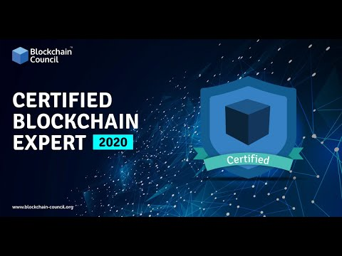 Introduction to Certified Blockchain Expert | Blockchain Council