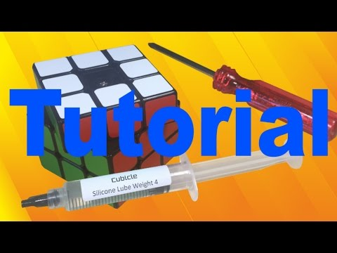 How to Lubricate a 3x3 Speed Cube (v3)