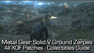 Metal Gear Solid V: Ground Zeroes - All XOF Patches Locations - Collectibles Guide