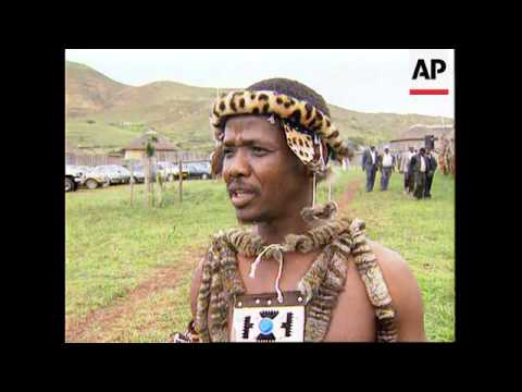 SOUTH AFRICA: NONGOMA: ZULU HARVEST FESTIVAL REVIVED