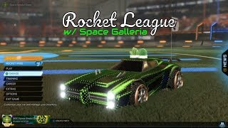 Live Rocket League with DoubleHoaxGaming #action #sportscars #space
