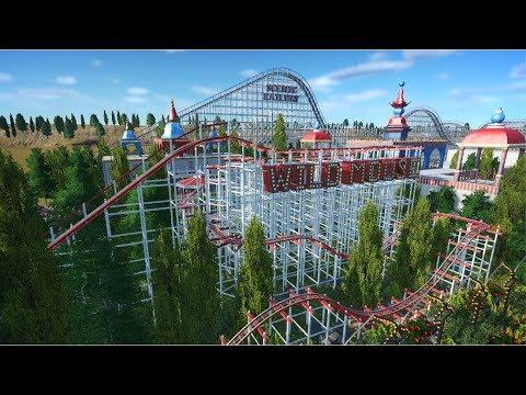 Let's Play Planet Coaster - Vintage Park - Episode 2 - Wild Mouse  