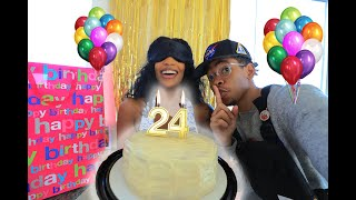 Surprising De'arra for Her 24th Birthday *emotional* | Quarantine Vlog