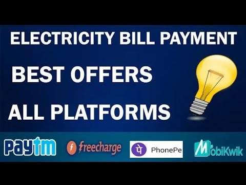 Pay Electricity Bill Online !! And Get Exciting Cashback Every Time!Pay  WBSEDCL Bill Through PAYTM