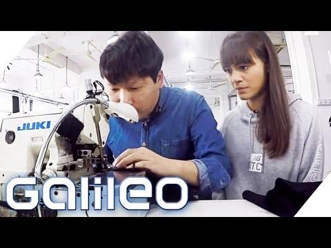 Made in China: 3 Tage als Näherin in einer chinesischen Fabrik | Galileo | ProSieben
