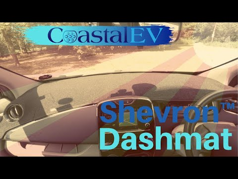 Renault Zoe HOW TO REDUCE WINDSCREEN GLARE !!! - Shevron™ Dash Mat Review