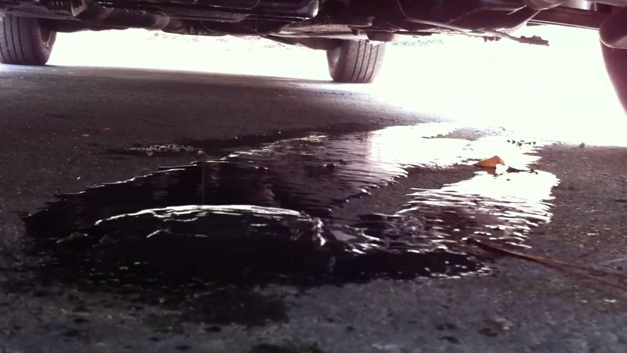 Leaking Oil Audi A6 2 7t Youtube