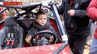 Repeat youtube video CASH LeCroy 7 YEARS OLD AIN'T SCARED  and HITS BOUNTY HILL