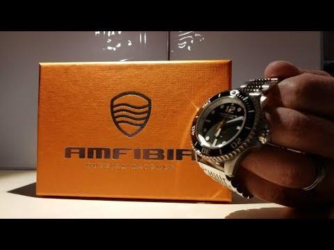 Vostok Amfibia Reef Russian Divers Watch