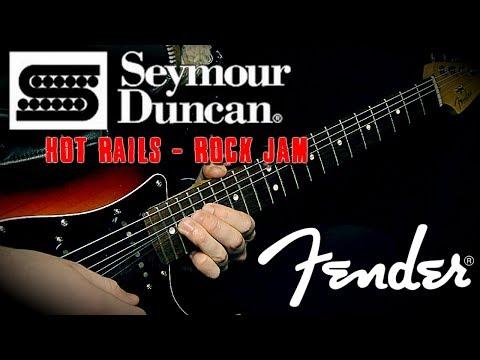 Seymour Duncan Hot Rails Strat Bridge | Sound Example | by Dave Devlin