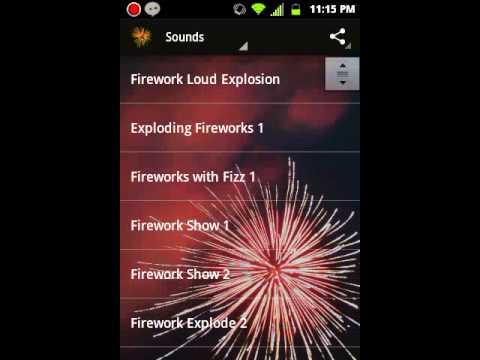 Firework & Firecracker Sounds