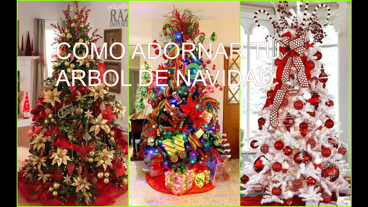 Como adornar tu arbol de navidad ideas decoracion for Como decorar un arbol de jardin