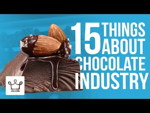 15 Things You Didn't Know About The Chocolate Industry