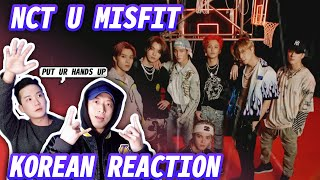 🔥(ENG) KOREAN RAPPERS react to NCT U 엔시티 유 'Misfit'  🔥