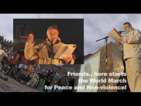 World March for Peace and Non-Violence - Video Bulletin ...March For Peace