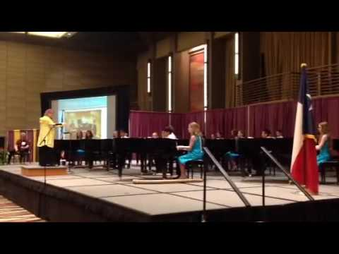 Texas Music Teachers Convention 2016 Middle School Ensemble