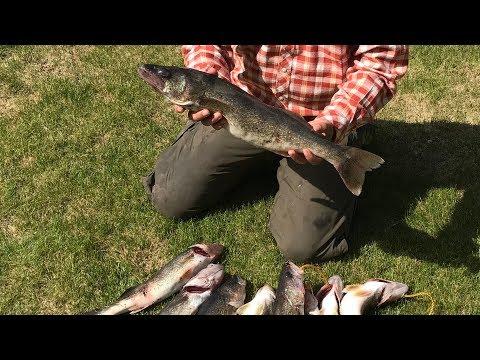 Bank Fishing for Walleye on Moses lake - www.FishingWa.us