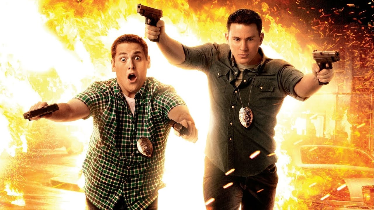 """21 JUMP STREET"" Jonah Hill, Channing Tatum 