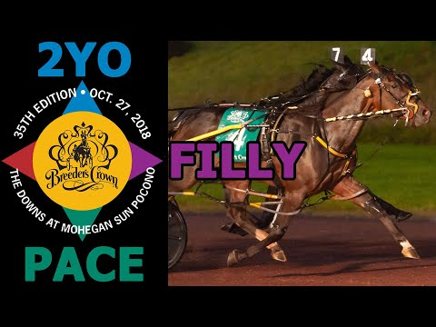 Warrawee Ubeaut: Breeders Crown 2 Year Old Filly pace $600,000 Championship Final #BCrown18