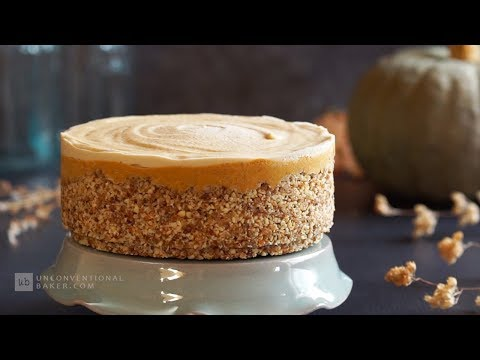 No-Bake Pumpkin Cheesecake (Vegan & Tasty!)