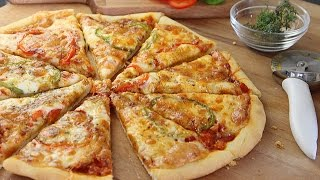 Recette de pizza facile / Easy homemade pizza /البيتزا بطريقة سهلة