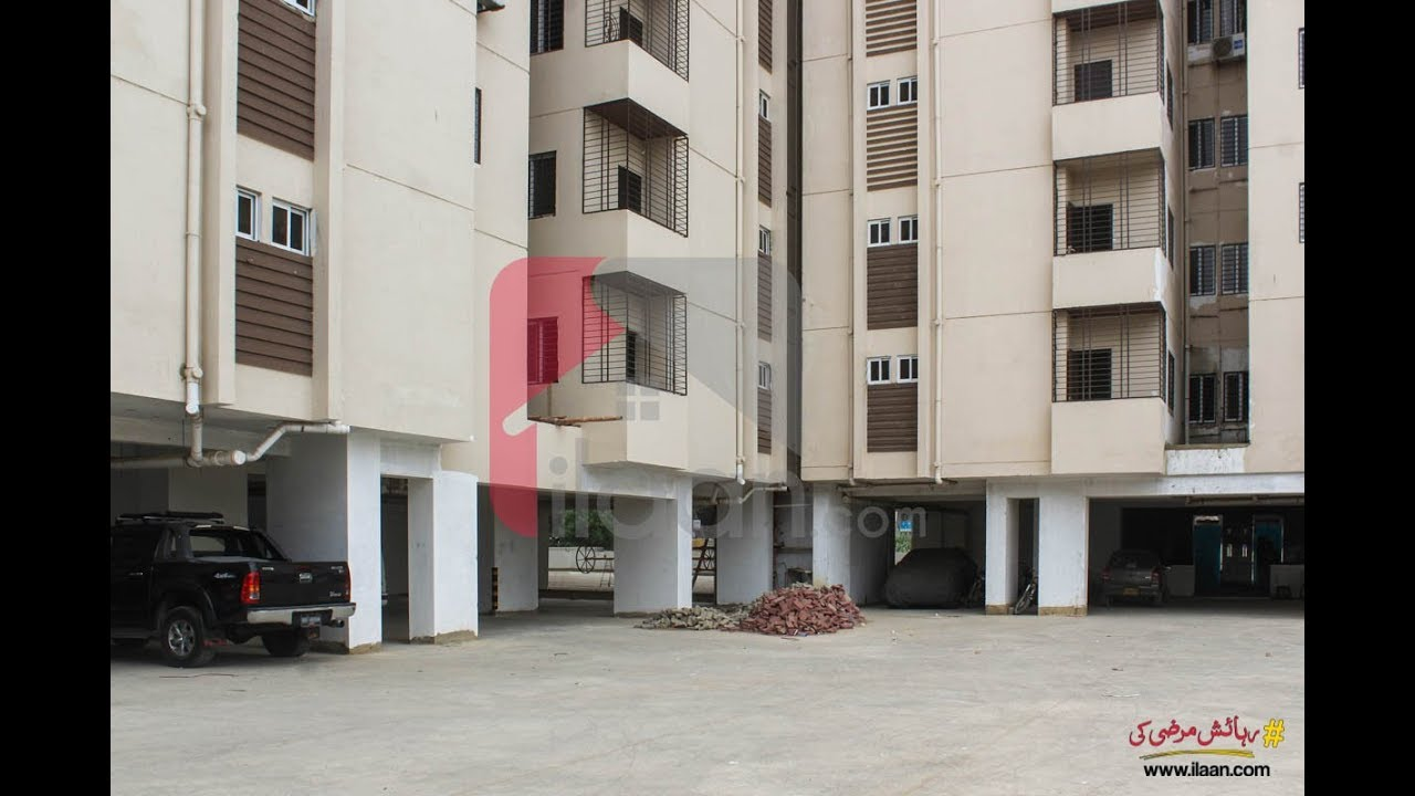 1600 ( sq ft ) apartment for sale in King's Tower, Block 15,  Gulistan-e-Johar, Karachi - ilaan com