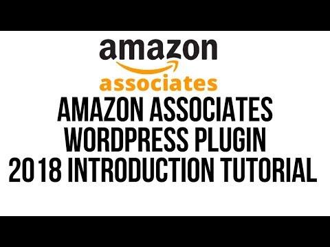 Amazon Affiliates Wordpress Plugin 2018 Installation