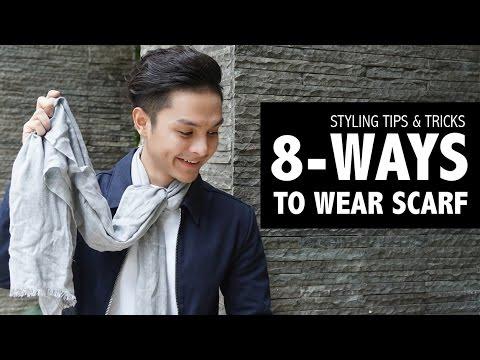 Ways To Wear Scarf