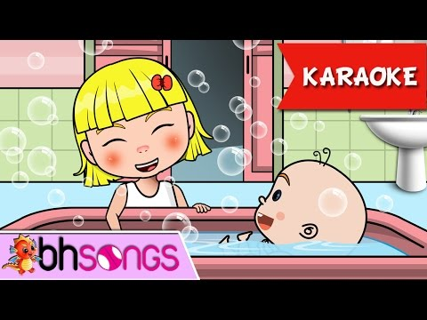 Bubble Bath Baby Song Karaoke | Nursery Rhymes TV [Music Video 4K]
