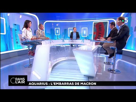 Aquarius : L'embarras De Macron #cdanslair 14.08.2018