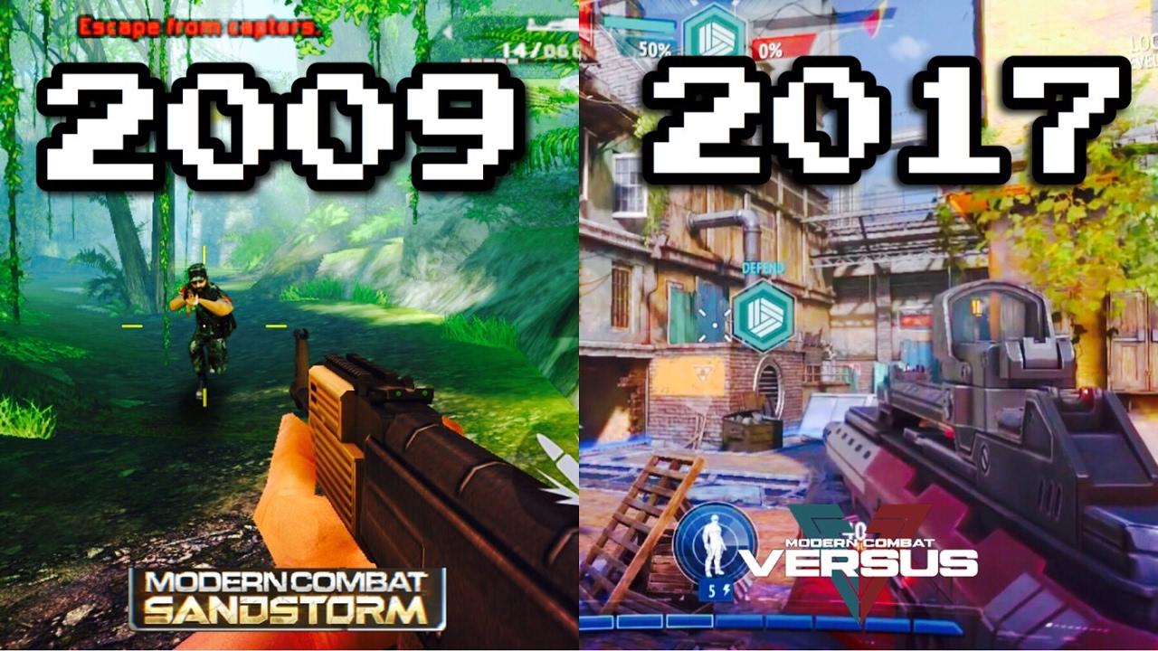 Download Modern Combat Sandstorm VS Modern Combat Versus (Graphics Comparison)