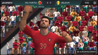 PLAYING IN THE FIFA WORLD CUP! PORTUGAL VS BELGIUM! FIFA Mobile 18