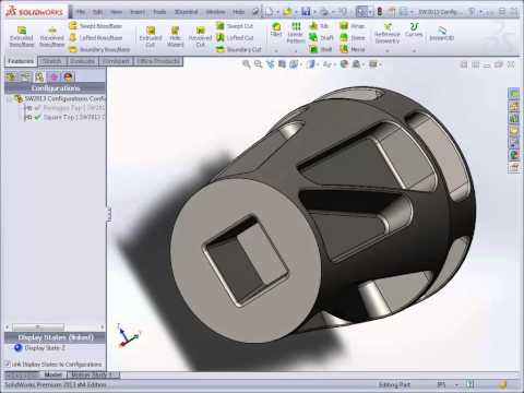 SURFCAM Tutorial - SolidWorks: Assemblies and Configurations